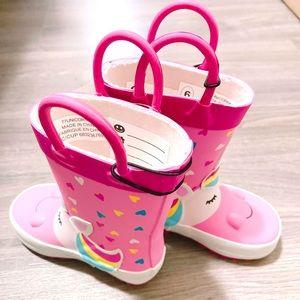 Unicorn Rain Boots Toddler